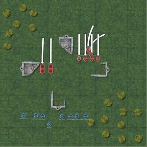 Fantasy wargaming Orcs second turn